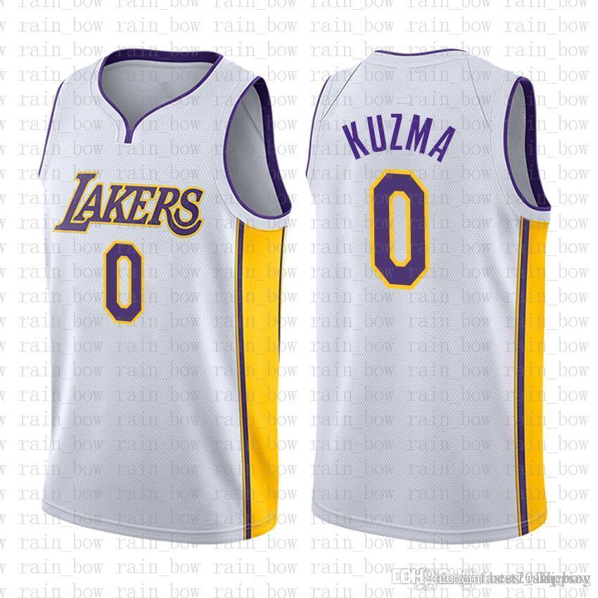 92c009ef80a4 9.99 Cheap SALE Top 2016 Mens 0 Kyle Kuzma Los Angeles Jersey Lakers ...