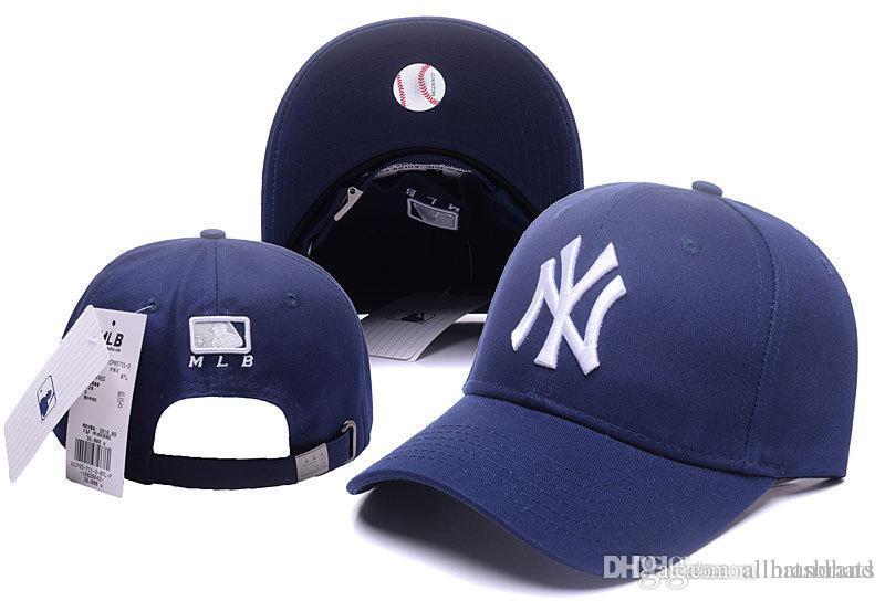 a580fe1ce4380 Compre Sombreros De Diseño Gorras Moda Hueso NY Gorros De Béisbol Para  Hombres Mujeres Gorra De Snapback Verano Al Aire Libre Sombrero Del  Camionero Deporte ...