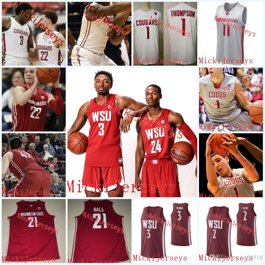 buy popular 6c498 03966 klay thompson washington state jersey