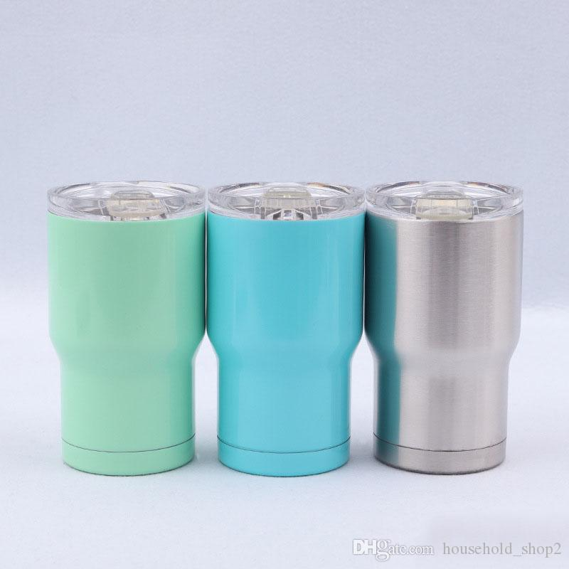 9184a26f082 14OZ stainless steel tumblers customized colors double wall insulation  vacuum wine coffee mugs with sliding lids