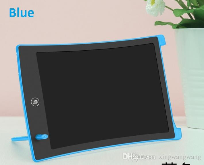 8.5inch ترقية الطبعة الرقمية LCD الكتابة اللوحي المفكرة الرسومات رسم لوحة الكترونية الكتابة اليدوية الوسادة مع شاشة واضحة وظيفة