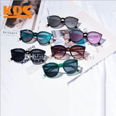 3d550edcba98 2019 2019 New Kids Sunglasses Fashion Girls Cat Eys Uv 400 Sun Glasses  Summer Boys Cycling Sunglasses Children Beach Holiday Sunblock F4694 From  Summervivi, ...
