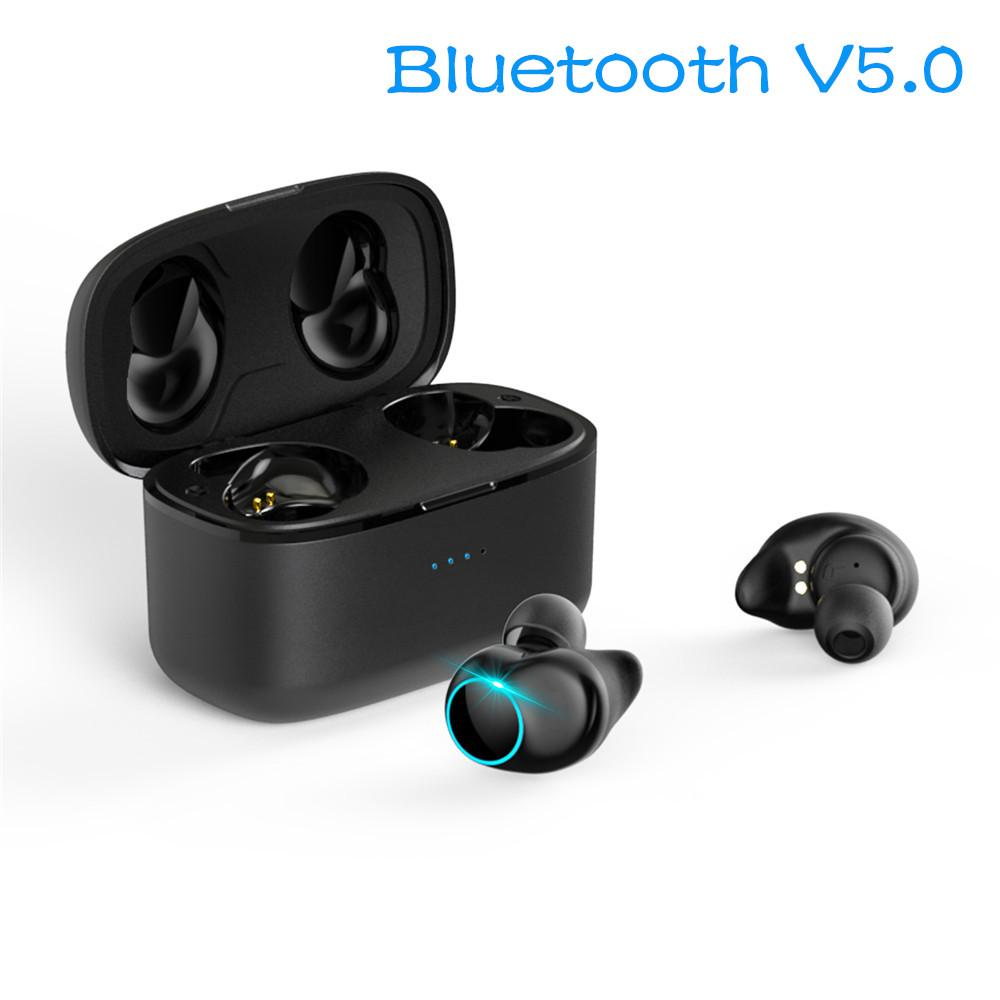 a9426ecacb2 TWS Wireless Earphones Bluetooth 5.0 Mini Earphones True Dual Headsets IPX5 Stereo  Sport Earbuds With Mic And Charging Box For Smartphones Headset Wireless ...