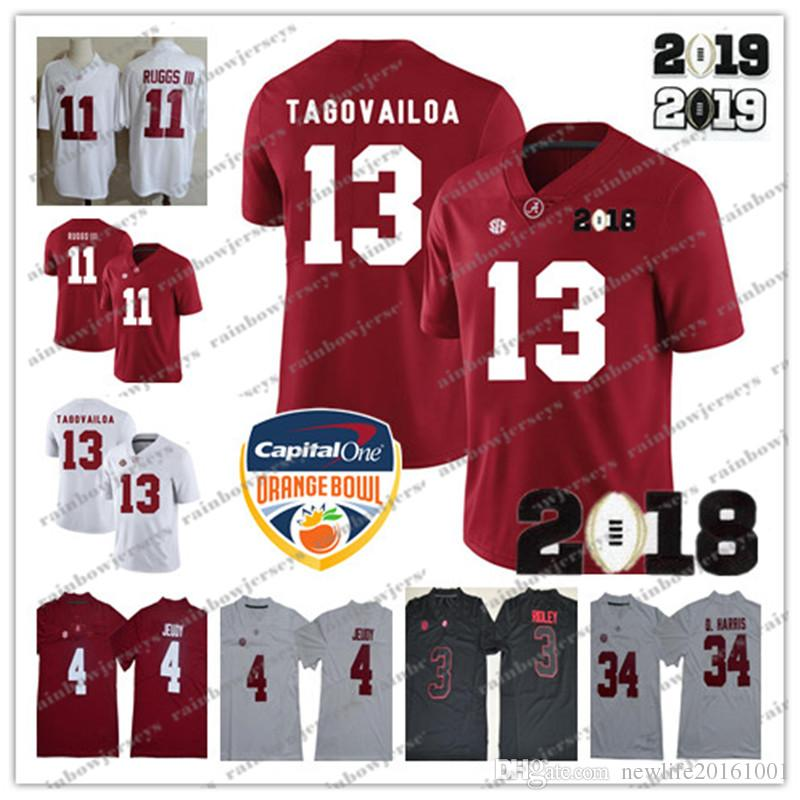 301591ca6 NCAA Alabama Crimson Tide  13 Tua Tagovailoa 2 Jalen Hurts 4 Jerry ...
