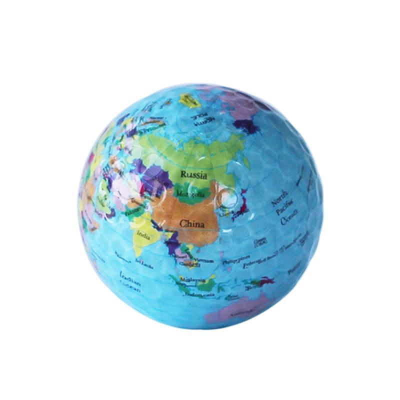 Globus Karte.Globus Karte Golfbälle Lustige Neuheit Praxis Golfbälle Für Kinder Männer Frau Weihnachten Geburtstagsgeschenk