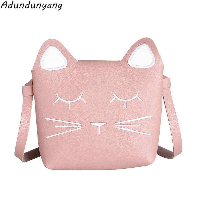 4b0c1c72eaa Cheap Girls Animal Prints Hasp Shoulder Bags Students Mini Crossbody Pouch  Children Cute Cat Handbags Baby Flap Packet Handbag Brands Cheap Bags From  Bags2, ...