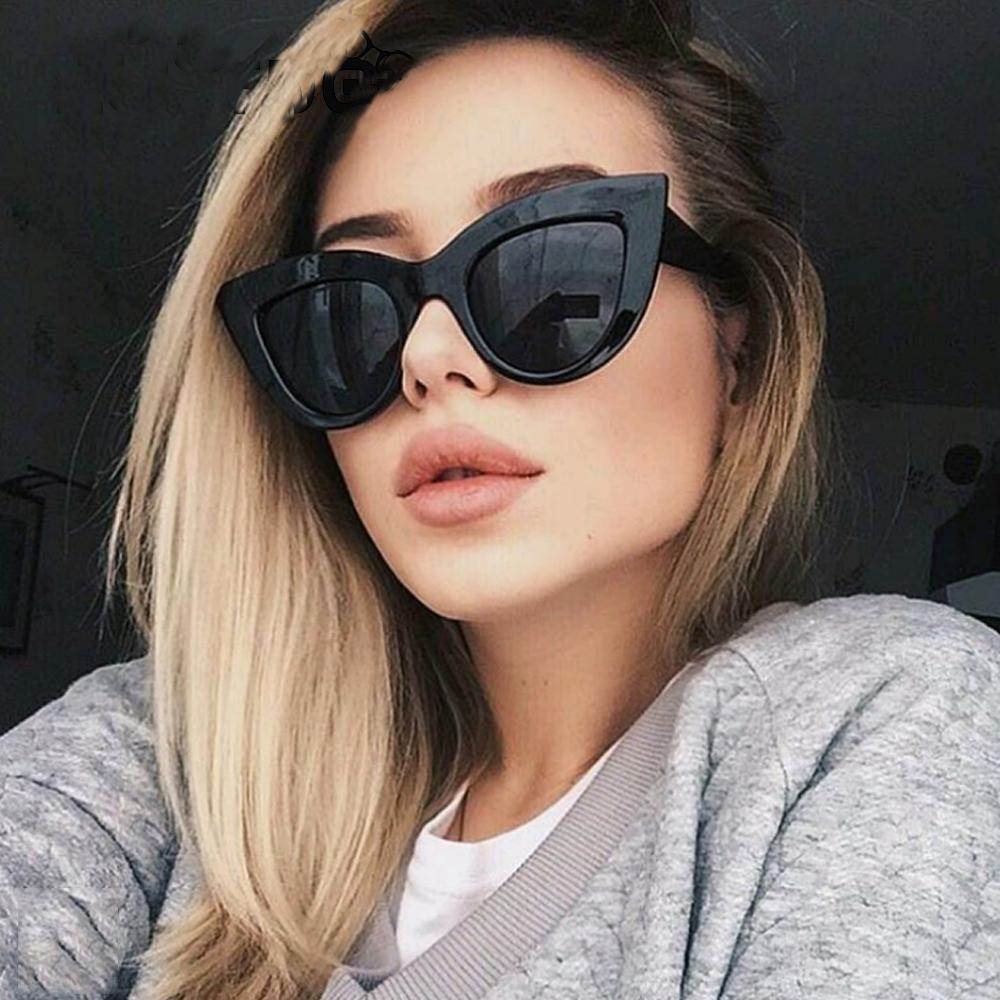 fcda29d42a Compre Ojo De Gato Gafas De Sol Moda Para Mujer UV400 Espejo Gafas De Sol  Mujer Tendencia Gafas De Sol Pendientes Reflectantes Gafas De Sol Para Mujer  A ...