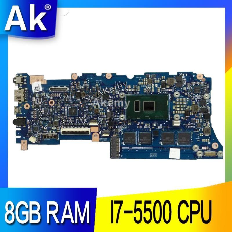 AK UX305LA Laptop motherboard I7-5500 CPU 8GB RAM for ASUS UX305L UX305LA  Test mainboard motherboard test 100% ok
