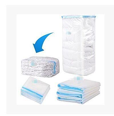6eac0f5711b1 Vacuum Storage Bag Space Saver Storage Bag Compressed Clothes Organizer Bag  Home Use Household travel Saving Space Bags KKA6551