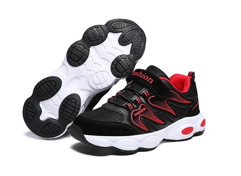 c5570988 Compre 2019 Primavera / Otoño Zapatos Para Niños Niños Calzado Deportivo  Marca De Moda Casual Transpirable Zapatillas De Deporte Para Niños Al Aire  Libre ...