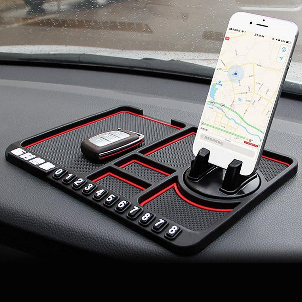BMW M Sport Car Anti Slip Mat Pad Phone Holder Dashboard Gripper blue White