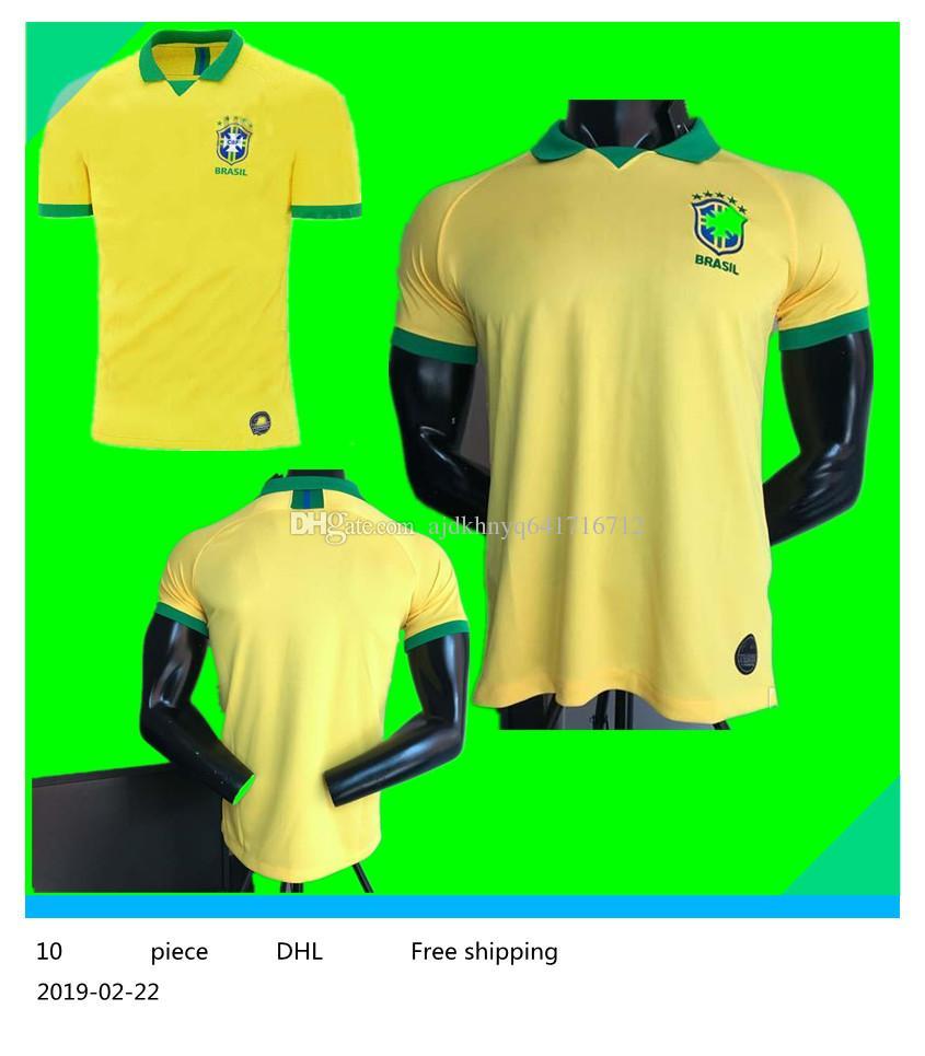 3afdfd03501 2019 P.COUTINHO PELE MARCELO RONALDINHO DAVID LUIZ Soccer Jersey ...