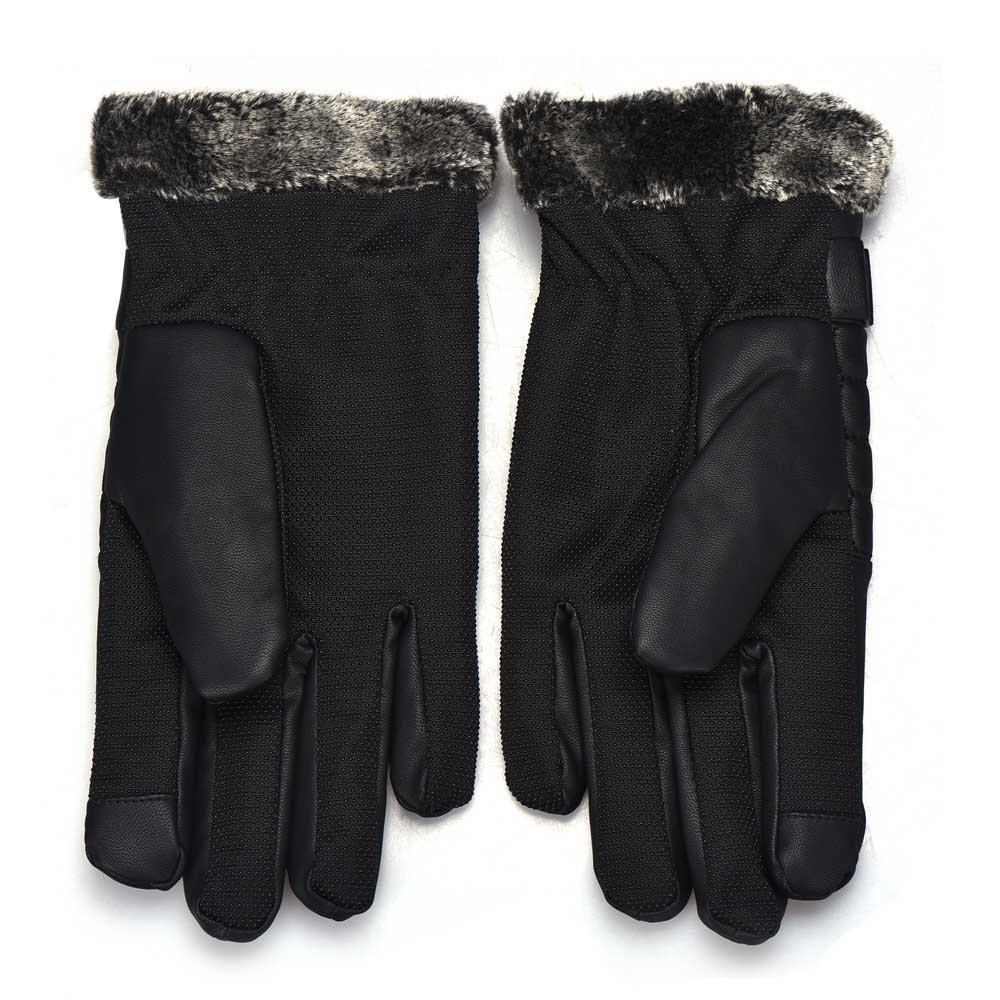 NOVA Moda Anti Deslizamento Térmica Dos Homens de Inverno Esportes de Couro Luvas de Tela de Toque quente para o sexo masculino venda quente Frete grátis