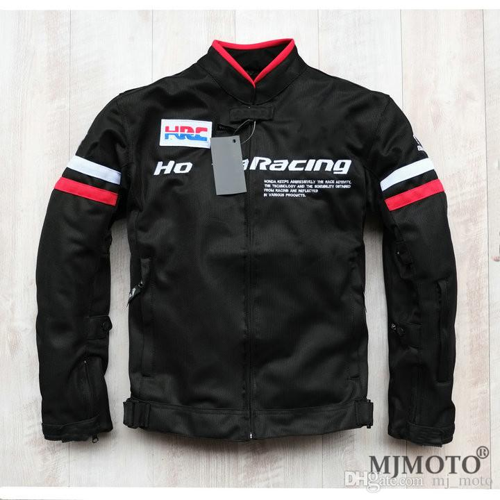 Summer Mesh Motorcycle Racing Jackets Red Black Off Road Ride