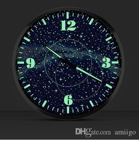 14 Mode Muet Shi Pouces Horloge Galaxy Lumineux Acheter SzpqMVU