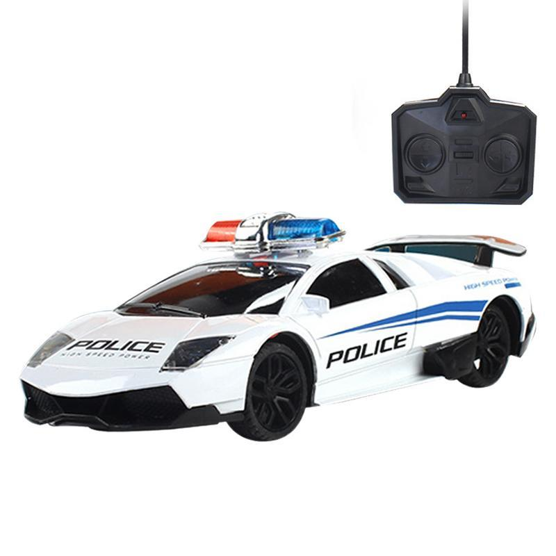 Remote Control Car for Children Car Model Four-Wheel Drive Racing with Light - Charging Wireless RC Electric Remote Control Toy