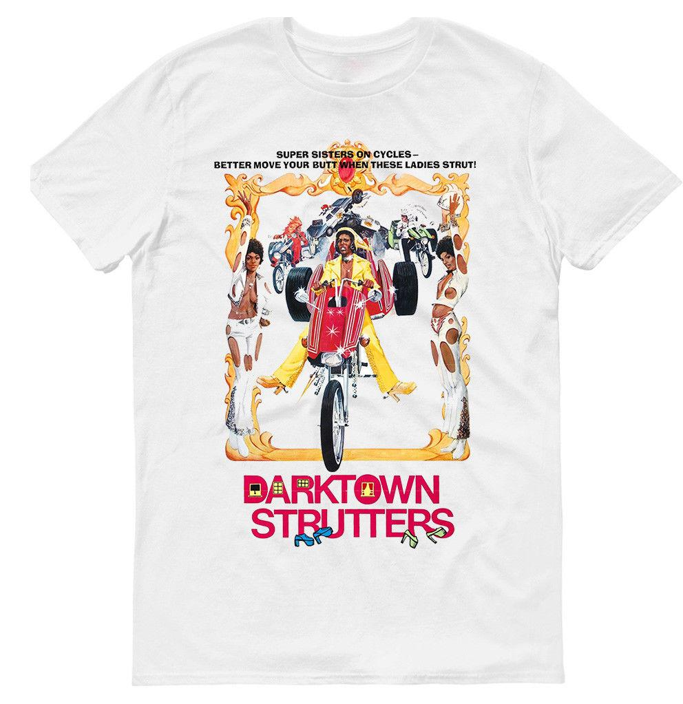 DARKTOWN STRUTTERS ,MOVIE,MENS T-SHIRT,COTTON 100% , G0010 Men Women Unisex Fashion tshirt Free Shipping