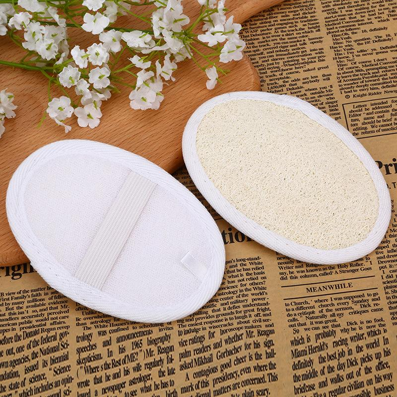 Loofah Pad Natural Loofah Scrubber Remove Dead Skin Loofah Pad Sponge Home Cleaning Tool Body Skin Bathing Massage Tools 8*12cm DBC VT1699