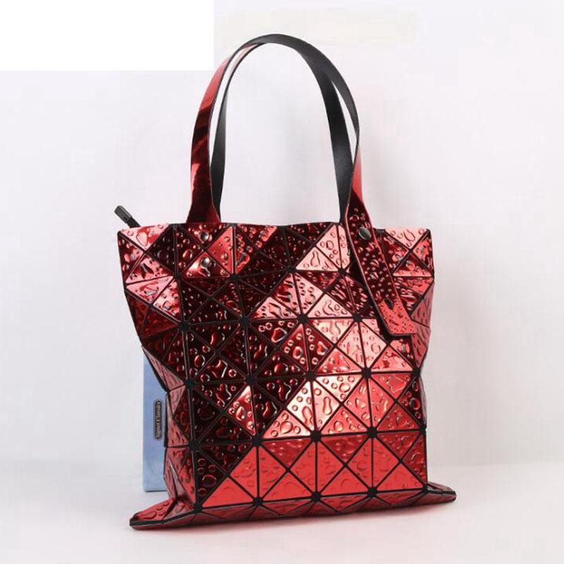 2fbefe76054 Unique Geometric Purse Laser Folding Tote Bag Handbags For Women The  Geometric Handbag Ultra Lightweight Designs Featuring Lw-94
