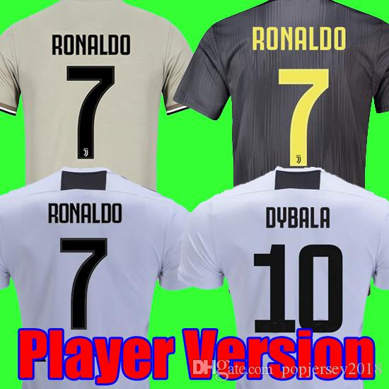 Player version 18 19 RONALDO DYBALA Juventus soccer jersey 2018 2019 champion league football shirt MANDZUKIC juventus Camiseta maillot