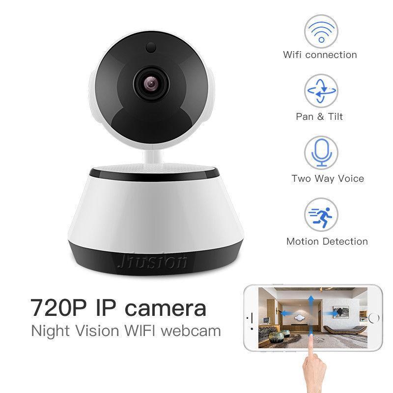 Professional Wifi Camera HD Video Audio Recorder Surveillance Cam Cloud  Storage 2 Way Audio Motion Detection Night Vision