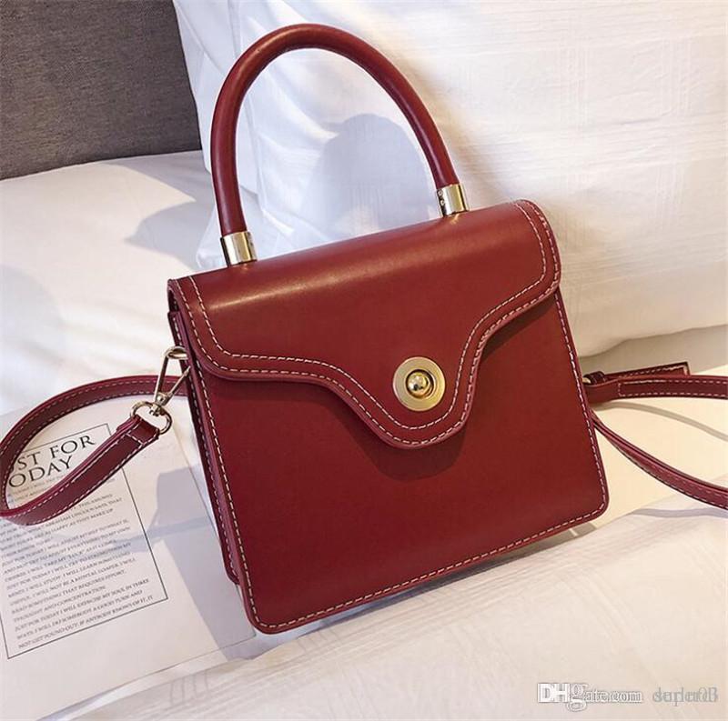 2018 Handbags Luxury Brand Pu Leather Chain Bag Tassel Messenger Bag ... 9da4378a70b4e