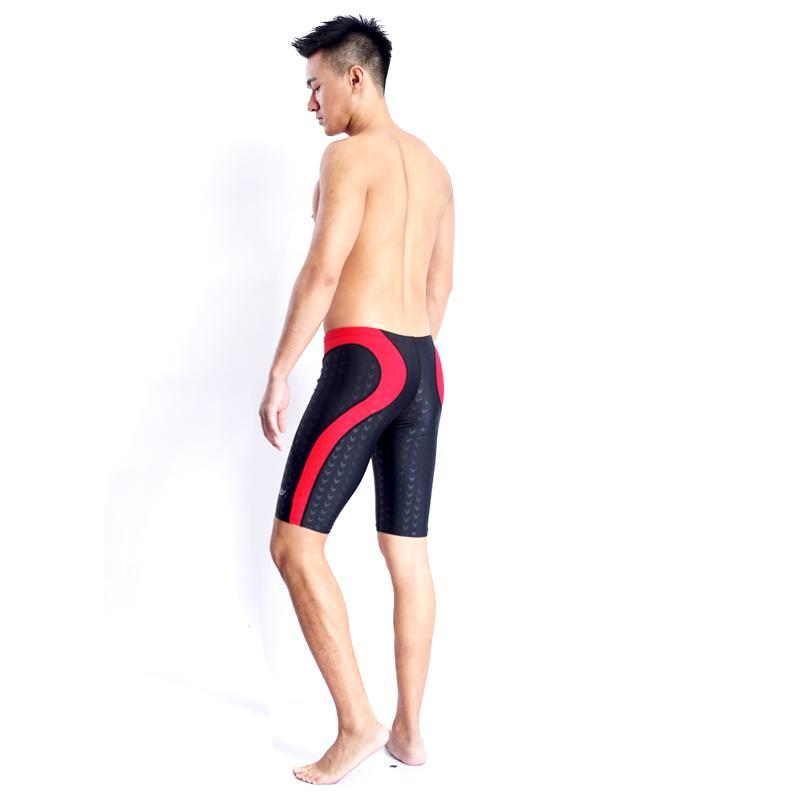 5928d185f2 2019 HXBY BRAND Men Swimsuit Competition Boys Swimwear Briefs Mens ...