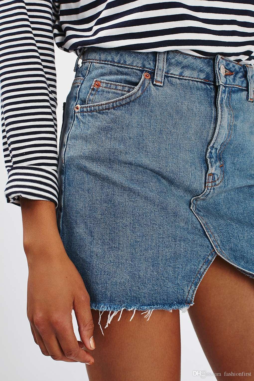 58d1a01e1224da Années 1990 denim serré mini jupe Cowboy taille haute Denim vêtements des  années 90 Grunge Denim Jupe Jean Womens Vintage Mini Jupes