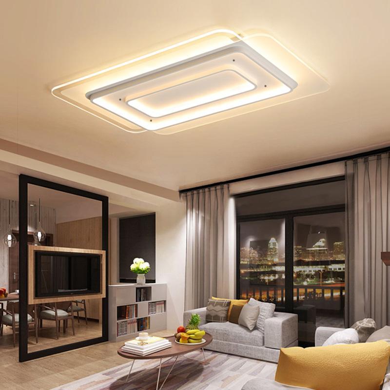 2019 Modern Acrylic Led Ceiling Lights For Living Room Bedroom