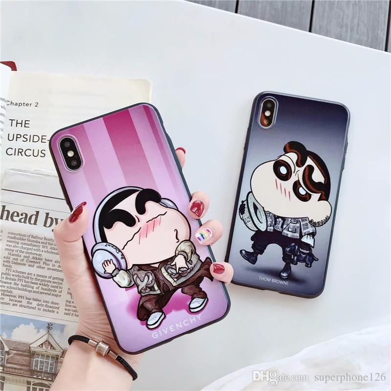Wholesale for Iphone 8 Plus Fashion Cartoon Phone Shell for Boys and Girls for Iphone Xs Xr X Xs Max 8 7 6 Plus Trend Cute Phone Case