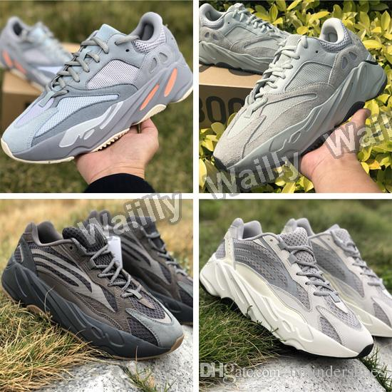 new concept d8301 d3e52 Wave Runner 700 Kanye West Shoes new colorway Vanta Salt Inertia Geode  Mauve Grey on sale,Discount 700 V2 3M Reflective Static Sneakers