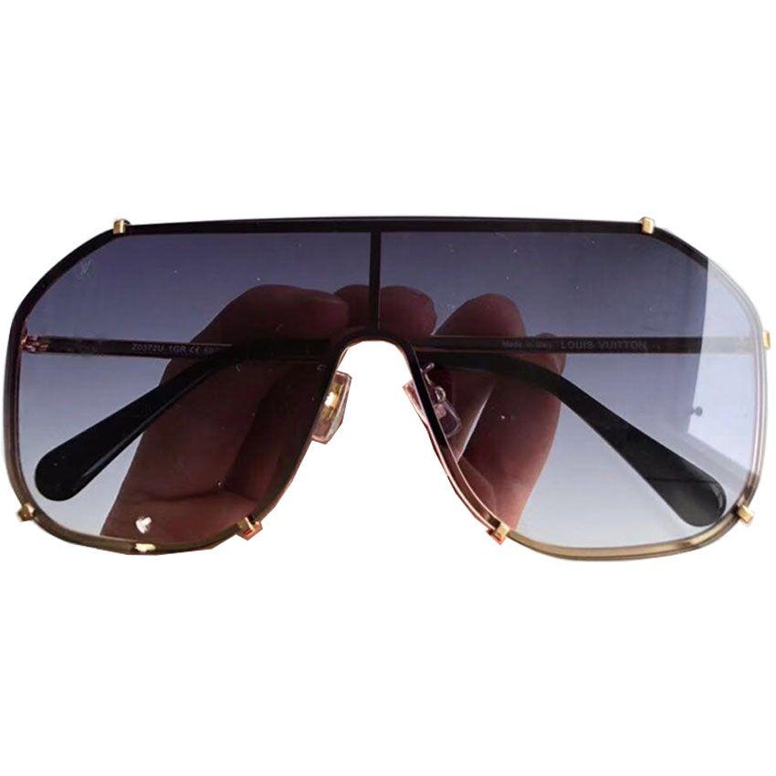 2885cfad5f Oversized Frame Pilot Sunglasses Women Men Top Brand Designer Luxury ...