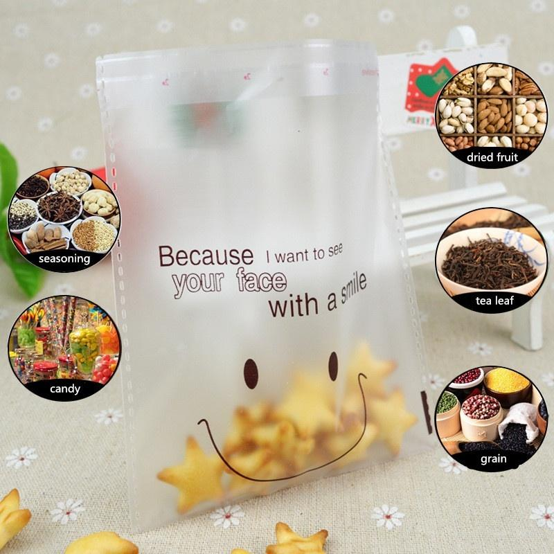 100/200 Pcs Cellophone Candy Party Packaging Bag Clear Cookie Sweet Boda Cumpleaños Liquidación completa para Party Wedding