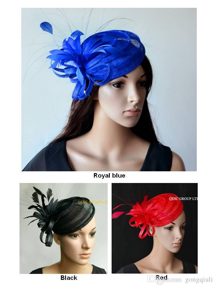 f762e8d3b52 NEW DESIGN Fashion Sinamay Fascinator Kentucky Derby Hat with ...