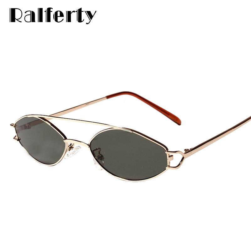 09928547fbd Wholesale Retro Sunglasses Women Men Gold Metal Frame Sun Glasses UV400  Double Bridge Eyewear Vintage Small Punk Sunglass W813053 Sunglasses Uk  Polarised ...