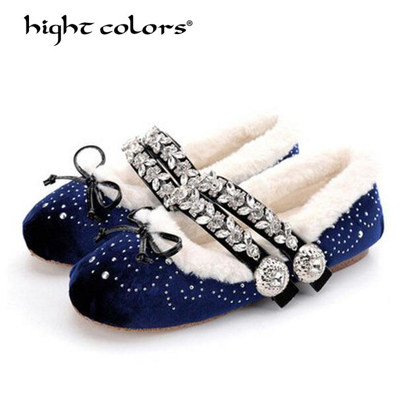 283908e68698 Plus Size 33 40 Ballerina Flats 2019 Latest Fashion Winter Woman Shoe Black  Red Bowtie Riband Buckle Strap Ballet Flats Shoes For Sale Cheap Shoes  Online ...