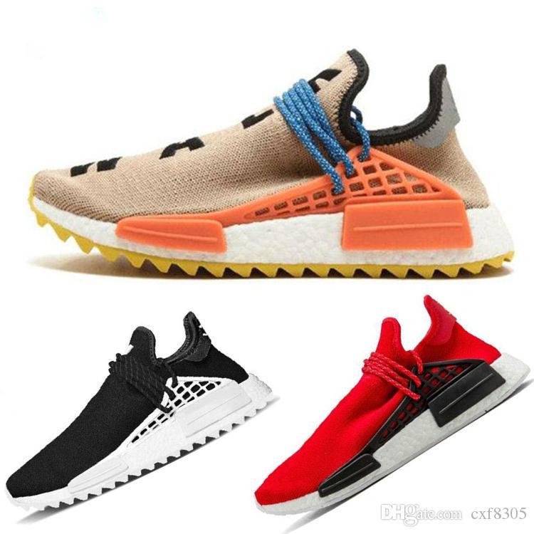 1bf1330a83c4c Großhandel Human Race X HU Trail HUMAN RACE SPIECES Laufschuhe Aus Herren  Sport Designer Schuhe Pharell Williams White Damen Trainer Footwear  Sneakers Von ...