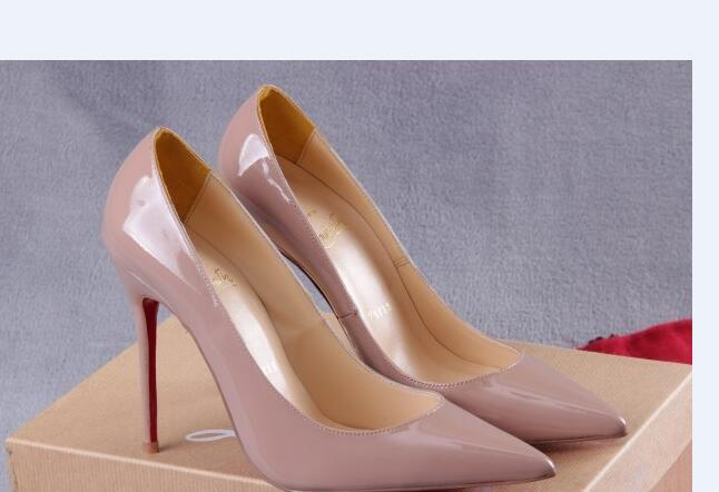 autumn shoes details for classic style Christian Loubutin CL Women Red Bottom Pumps High Heels Peep Toe ...