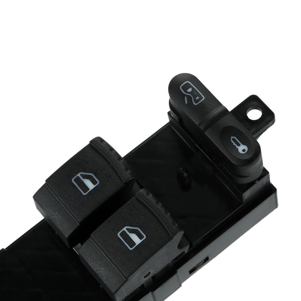 VW Volkswagen Golf MK4 için Profesyonel Elektronik Pencere Kaldırıcı Anahtarı 2 Kapı 99-07 Araba Pencere Kontrol Master Anahtarı Pannel