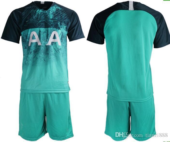 b3432142e 2019 18 19 Men KANE Spurs Soccer Jersey Third Jerseys 2018 2019 LAMELA  ERIKSEN DELE SON Football Shirt Adults From Tianzi888