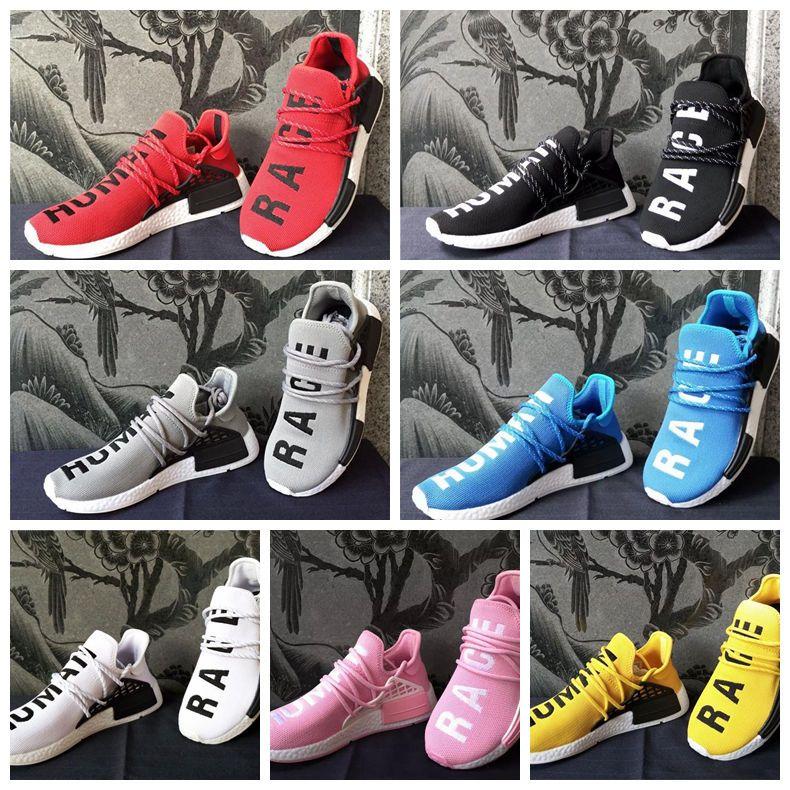 63607b367b07e 2019 2019 Nmd Human Race HU Running Shoes Men Women Pharrell Williams Trail  Nmd Runner R1 Sports Sneakers Casual Trainers Luxury Designer Shoe From ...