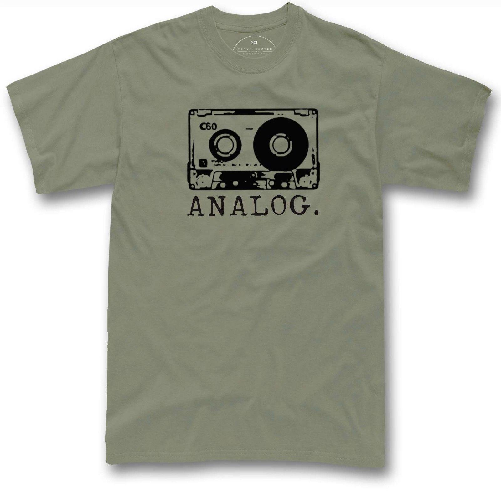 65952169cf Compre Cassette Camiseta Analógica Retro Años 80 Cinta Vintage Dj Regalo  Camiseta Envío Gratis Unisex Camiseta Casual Top A  12.96 Del  Scottwearhouse ...