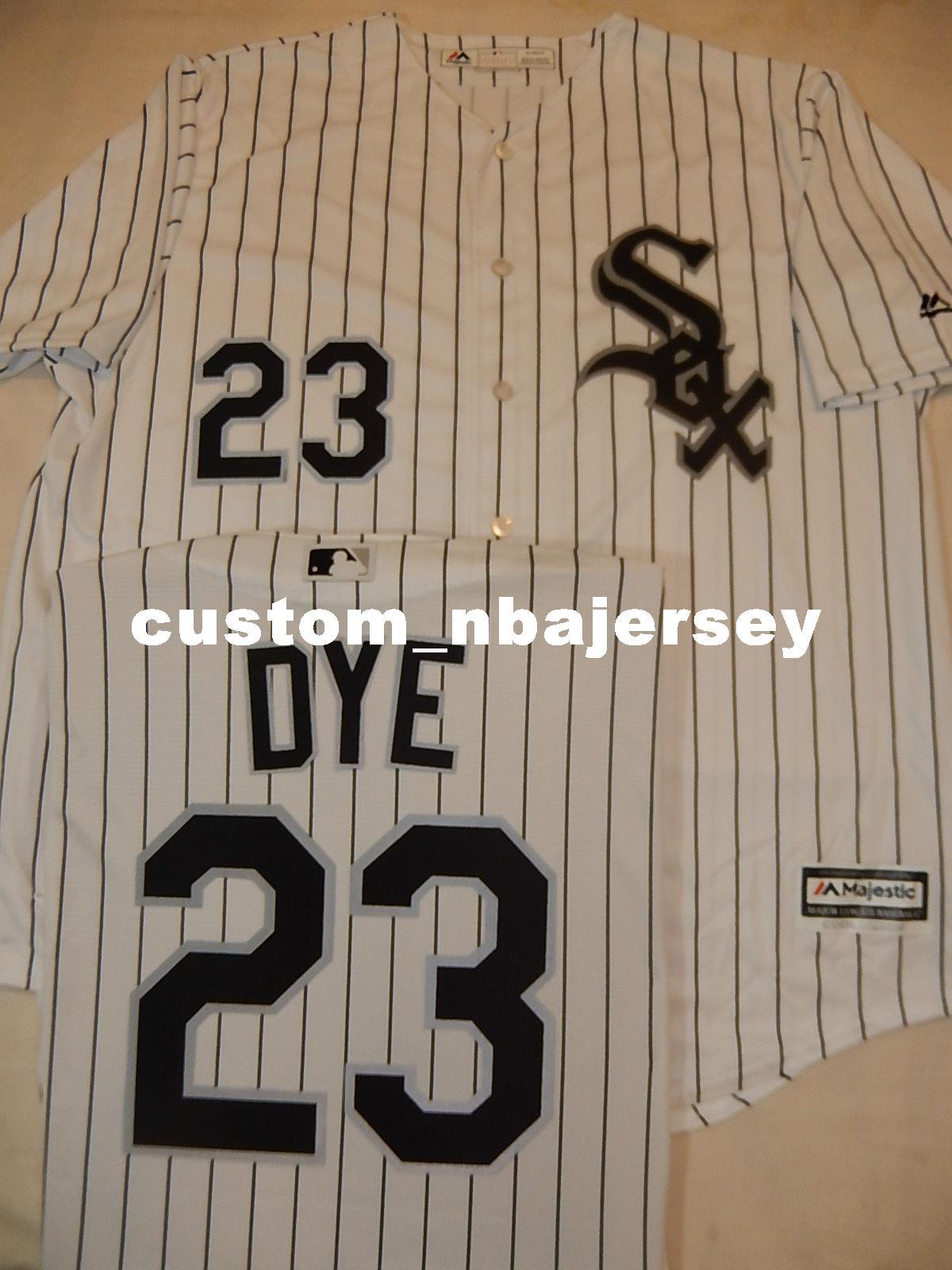 691982612939 2019 Cheap Custom JERMAINE DYE Baseball Cool Base JERSEY Stitched Customize  Any Name Number MEN WOMEN BASEBALL JERSEY XS 5XL From Custom nbajersey