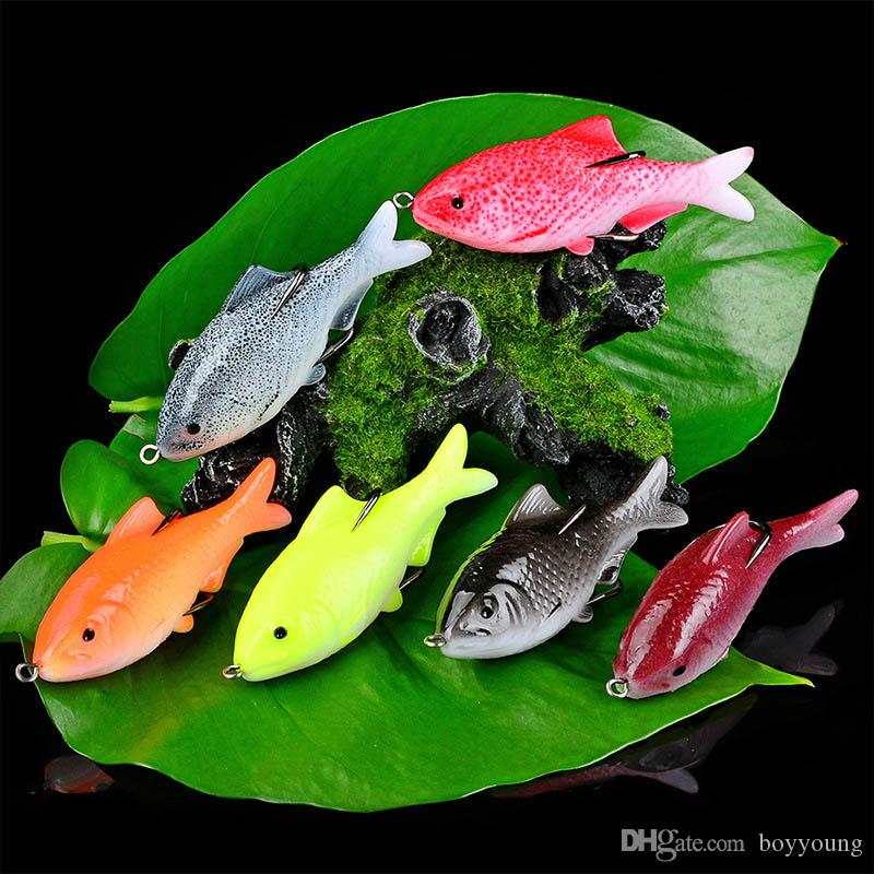 New Fishing Baits Lure Wobbler Lifelike Fishing Lure Bronzing Painted Swimbait Crankbait Hard Bait Lures Tilapia Fish Tackle