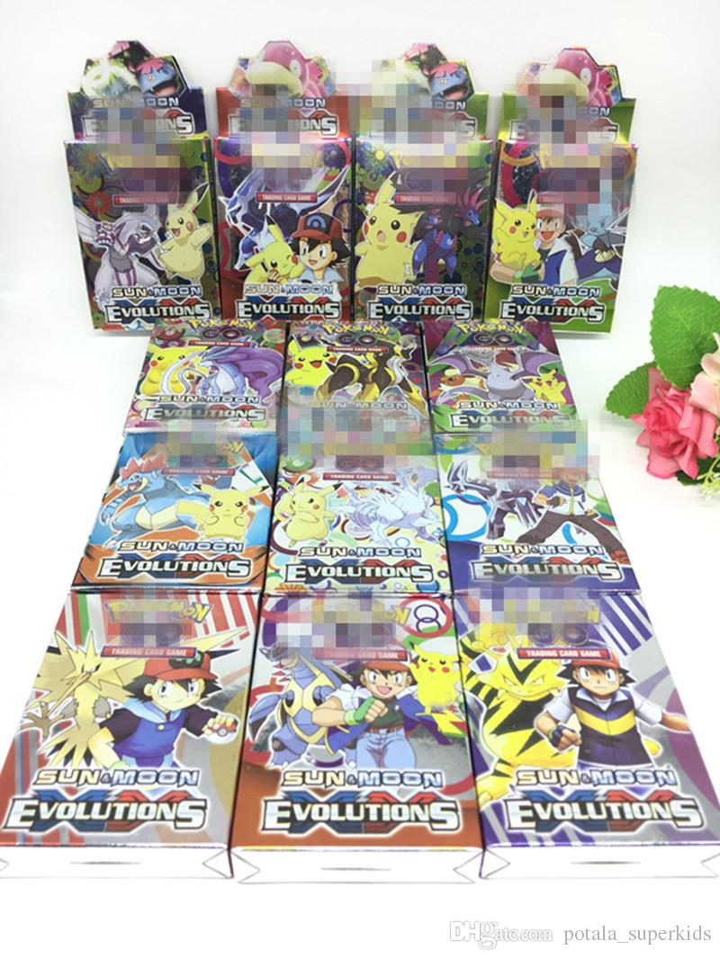 25PCS A Box Cards Game For Boys Trading Funny Playing Games Guess Anime Collection board games cards Funny Interesting Anime Pocket box
