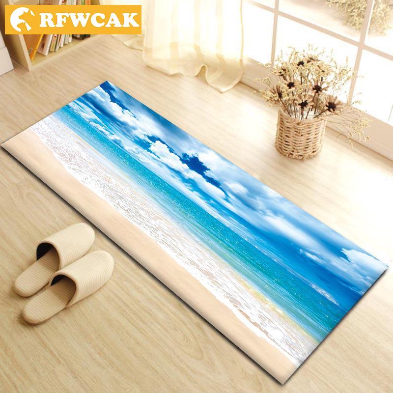 Rfwcak Modern Livingroom Bedroom Floor Mat Decorative Sofa Carpets