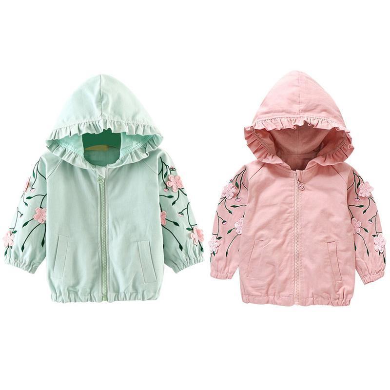 23f63499d Kids Girls Jacket Baby Girl Clothes Autumu Fall Coat Roupas Infantis ...