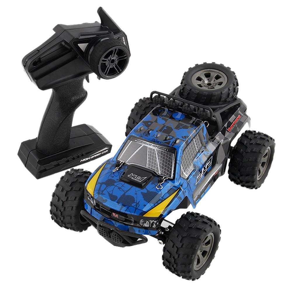 Remote controlled car 2WD Rock Crawler 1/18 Rechargeable Remote Radio Control Truck Off Road RC Car toy for children D300122