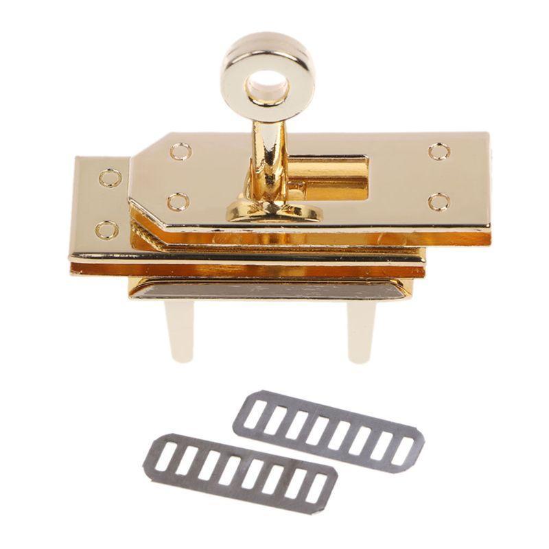 Metal Clasp Turn Lock Twist Locks For Diy Handbag Shoulder Bag Hardware Accessories Bag Parts & Accessories