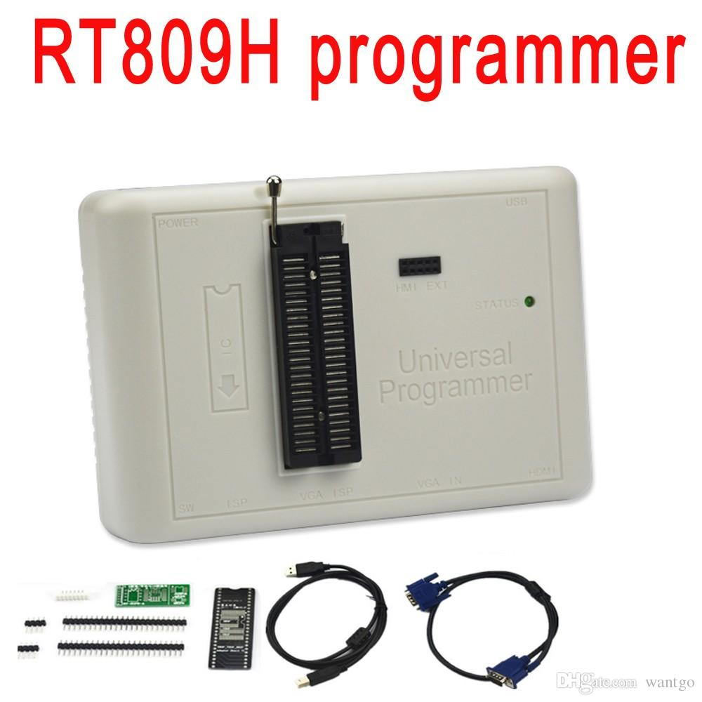 Freeshipping ORIGINAL RT809H EMMC-Nand FLASH Extremely fast universal  Programmer better than RT809F/TL866CS/TL866A /NAND